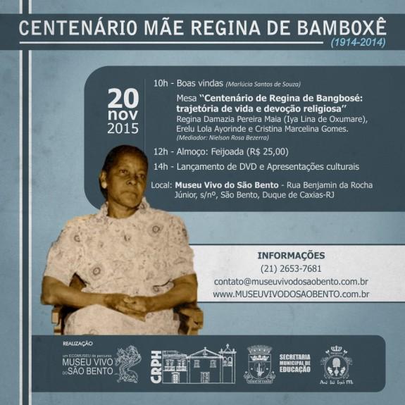 Convite Mae Regina