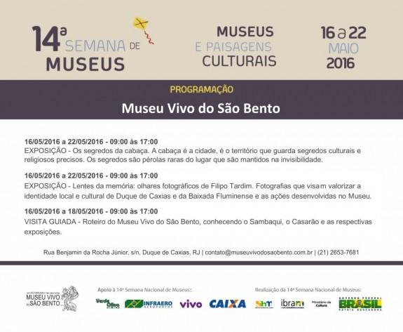 Programacao 14 semana de museus MVSB