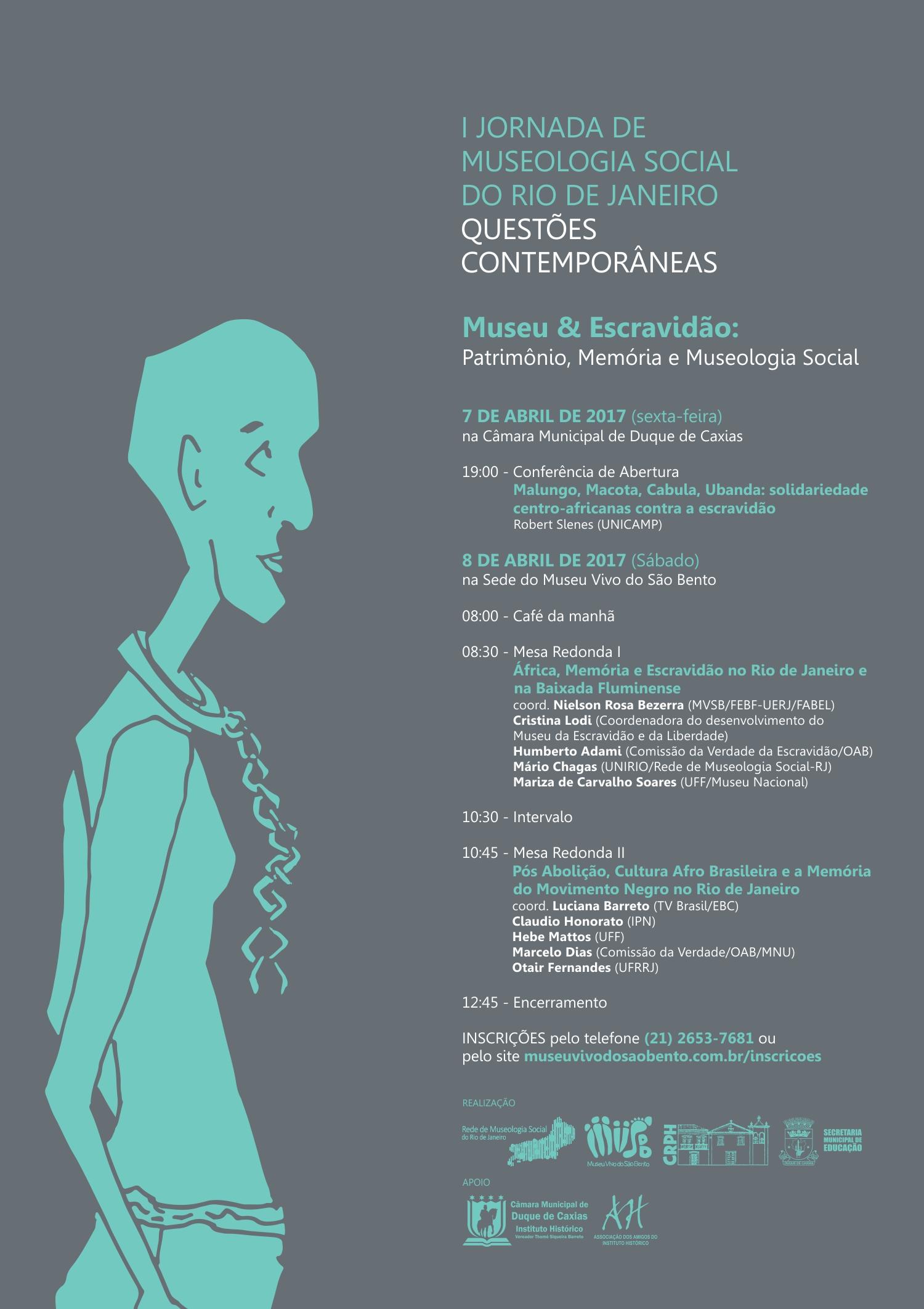 Cartaz I Jornada de Museologia Social