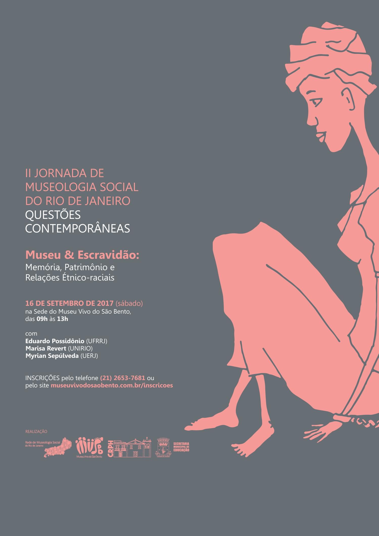 II Jornada de Museologia Social do Rio de Janeiro: Questões Contemporâneas